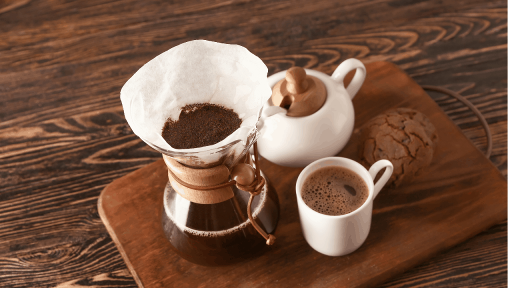 how to make pour over coffee 5
