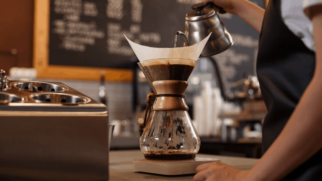 how to make pour over coffee 6