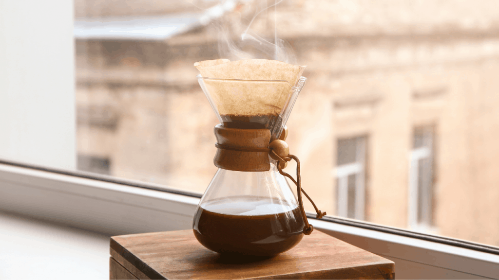 how to make pour over coffee 8