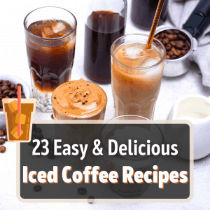 iced coffee recipe featured